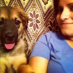 Benji és én :)