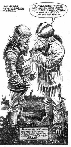 Gunpowder Julius takes on Brutus Sci Fi Comics, Planet Of The Apes, Pop Culture, Planets, Joker, Cinema, Comic Books, Fictional Characters, Art