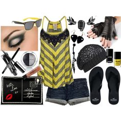 """""""Hey! We're Punk Rock!"""" by theheartsclubqueen on Polyvore"""