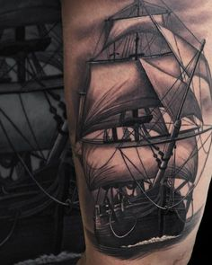 Tattoos.com | Amazing Ship Tattoos You Won't Believe Are Real | Page 3