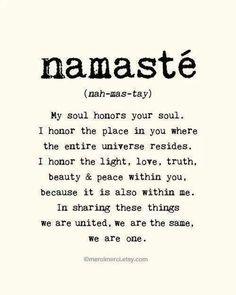 Mental health yoga namaste