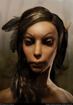 Title: Elf Girl  Name: Sebastian Schoellhammer  Country: Germany   Software: 3ds max, mental ray, Photoshop, SOFTIMAGE|XSI, ZBrush