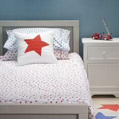 Lulu & Nat | Boys Bedding | Red Star Duvet Cover