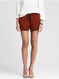 Rust Drapey Short