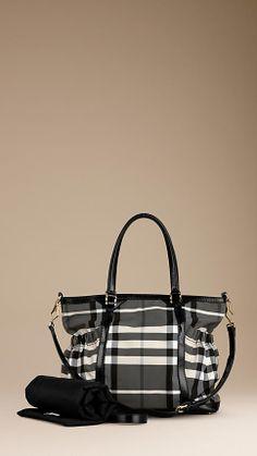 Beat Check Nylon Changing Bag | Burberry