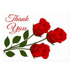 business thank you cards Say thank you with red roses! This sweet and simple floral post card features hand drawn red roses with long thorny stems highlighting a red thank you i Thank You Wishes, Thank You Greetings, Thank You Quotes, Thank You Messages, Happy Birthday Greetings, Thank You Pictures, Thank You Images, Fancy Script Font, Thank You Flowers