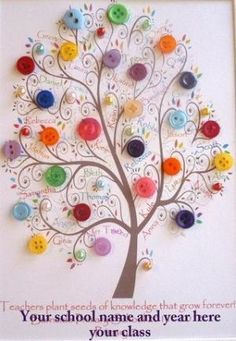 This is such a cute idea for a teacher gift (with a quote from the giving tree (or a copy of the giving tree) by iris-flower