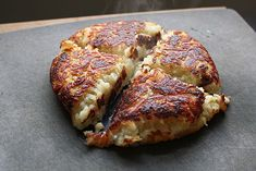 Rösti - 2¼ pounds russet potatoes (about 3 large),   2 tablespoons lard or unsalted butter,   2 tablespoons canola oil, 1 tablespoon kosher salt, plus more to taste