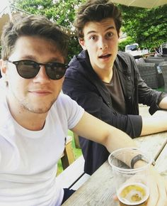 Niall and Shawn. We want a collab!!!