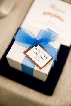 Brownies make a perfect gift at any event! #Wedding #VermontBrownieCompany #Brownies
