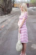 Cute knit dress - I think I might be brave enough to try sewing with knits.
