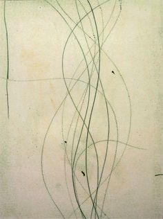 Doug Glovaski | glovaskicom - Regeneration #2, oil transfer drawing, 24x19 (2004)