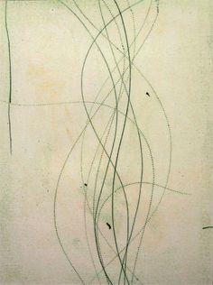 Regeneration #2, oil transfer drawing, 24x19, Glovaski  2004