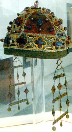 Crown of Constance of Aragon, Regent in Sicily 1212-1220, She rests in Palermo Cathedral. Palermo Cathedral is the cathedral church of the Roman Catholic Archdiocese of Palermo, located in Palermo, Sicily, southern Italy.