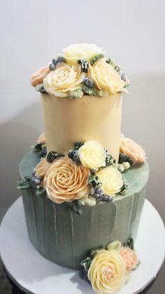 winter garden cake
