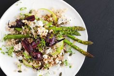 This wholesome vegetarian salad gets its bulk from pearl barley which is rich in protein, nutrients and fibre.