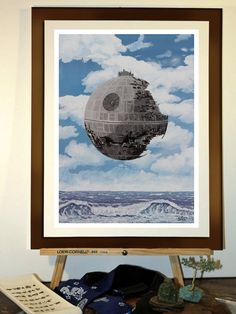 The Castle on the Death Star, Magritte's parody