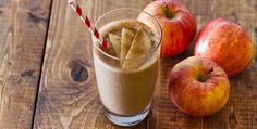An oatmeal smoothie with an apple pie twist! This combo delivers a delicious combo of fiber, protein, and healthy fats to start your day.