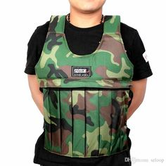 Wholesale cheap  online, accessories   - Find best  suten 20kg camouflage weighted vest with sholder pads comfortable weight jacket 2016 adjustable sanda boxing sand clothing (empty) 2502048 at discount prices from Chinese accessories supplier - szloop on DHgate.com.