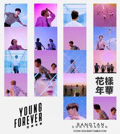 BTS youngforever BangtanSonyeondan