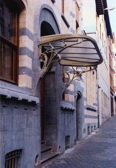 Art nouveau, Brussels, Belgium
