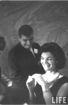 Jackie Kennedy by Ed Clark, 1960