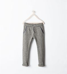 ZARA - KIDS - FLEECE TROUSERS
