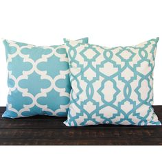 Throw Pillow Covers Cushion Cover Pillow Sham Pair of Two Greek Key... ($32) ❤ liked on Polyvore featuring home, home decor, throw pillows, black, decorative pillows, home & living, home décor, black toss pillows, blue chevron throw pillows and chevron throw pillows