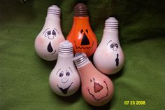 Image detail for -Light Bulbs painted