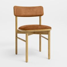 Sadove Dining Chair | West Elm High Back Dining Chairs, Leather Dining Chairs, Upholstered Dining Chairs, Dining Chair Set, Dining Table, Dining Area, Oversized Furniture, Small Furniture, Dining Room Furniture