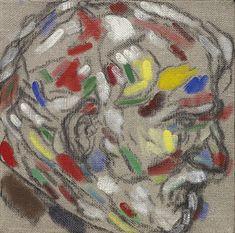 R.B. Kitaj, Technicolor Self-Portrait, 2007, Marlborough London
