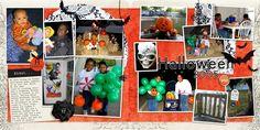 Family Album 2005: Halloween layout by Tina Shaw | Pixel Scrapper digital scrapbooking