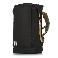 Poler Rolltop Pack Backpack - Black