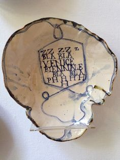 ''ZZZZZ VENICE BIENNALE BLA BLA PHHHHH'' ruanhoffmann.com Venice Biennale, Clay Design, Pottery Ideas, Glaze, Surface, Art, Enamel, Art Background, Kunst