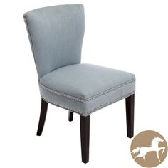 @Overstock.com - The Jackie accent and dining chair offers comfortably soft fabric for a perfect way to add extra seating to any room. They arrive fully assembled so all you have to do is choose a room. http://www.overstock.com/Home-Garden/Christopher-Knight-Home-Jackie-Ocean-Blue-Accent-Dining-Chair/7910551/product.html?CID=214117 $139.99