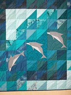 dolphin- I made one of these with one large dolphin!