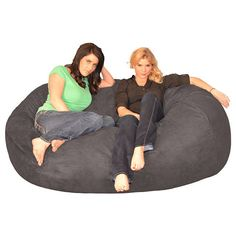 The Whole Gang Can Fit On This Oversize Bean Bag Packed With Super Cushioning Furniture