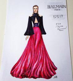 fashion illustration #designer #runway