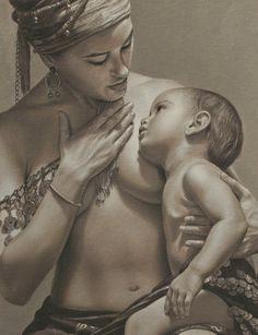"""Artist: Sergio Martinez Cifuentes ~ """"Dialogo"""" 2010 (Detail)"""