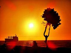 Sonnenuntergang Antofagasta