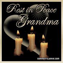 RIP Grandma   gif alt rest in peace graphics border 0 a grandma