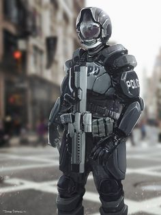 Police, Jose Borges on ArtStation at https://www.artstation.com/artwork/police-c6a7a75b-240e-4710-b0c3-4448c7a5e452