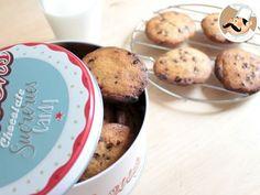 Receita Sobremesa : Cookies com pepitas de chocolate de PetitChef_PT