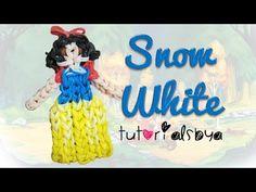 {Disney Princess Series} Snow White Figurine / Action Figure Rainbow Loom Tutorial