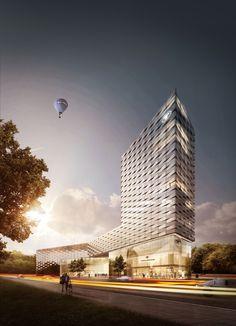 high rise | architect agn leusmann | rendering by OLC