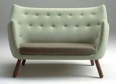 My kind of couch. By Finn Juhl