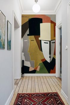 21 wall painting ideas for a trendy interior! - Artists - 21 wall painting ideas for a trendy interior! Best Picture For french decor For Your Taste You ar - Art Mural, Wall Murals, Panel Art, Wall Design, Abstract Art, Wall Decor, Walls, Art Deco Art, Art Art