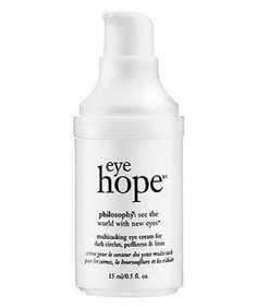 Philosophy Eye Hope Multitasking Eye Cream for Dark Circles, Puffiness and Lines | Brighten, de-puff, and reduce the appearance of wrinkles in the delicate, trouble-prone skin under your eyes. #AntiAgingEyeCream Homemade Eye Cream, Anti Aging Night Cream, Eye Cream For Dark Circles, Best Eye Cream, Happy Skin, Skin Cream, Skin Care Tips, Houston, Philosophy