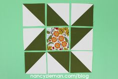 Fall Table Runner Inspiration Pattern by Nancy Zieman