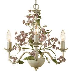 Elwyn 3-Light Candle-Style Chandelier